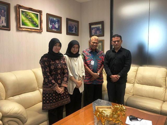 Sowan ke Tokoh Jambi di Jakarta Marzuki Usman, Ratu Munawarah Dapat Pesan Ini