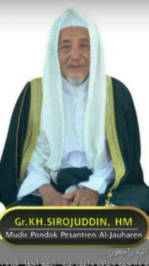 Ulama Kharismatik Asal Sebrang KH Ahmad Syirojuddin, Pimpinan Ponpes Aljauharen Meninggal Dunia