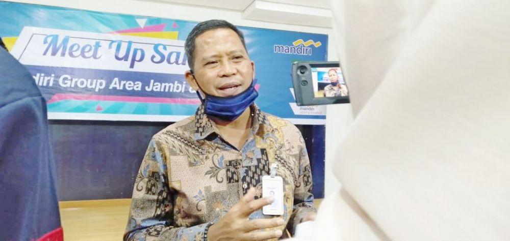 Pimpinan Bank Mandiri Area Jambi Suroso Djailani