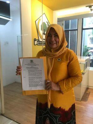 BREAKING NEWS: Golkar Resmi Usung Yunninta Asmara-Mahdan di Pilbup Batanghari
