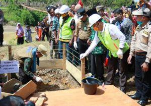 Dorong Pertumbuhan Wilayah, Pemprov Bangun Jembatan Rantau Limau Manis