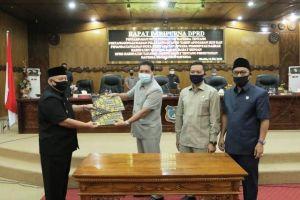 DPRD Tanjab Barat Rapat Paripurna Penyampaian Nota Pengantar Raperda APBD 2019