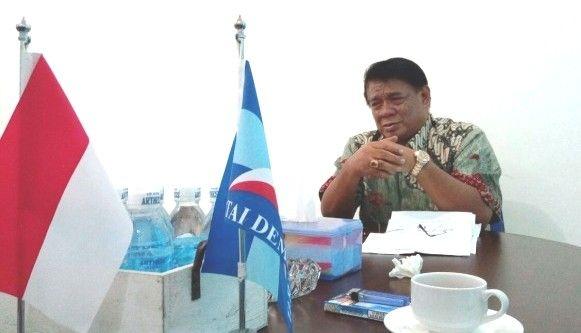 Ketua DPD Partai Demokrat Provinsi Jambi Burhanuddin Mahir