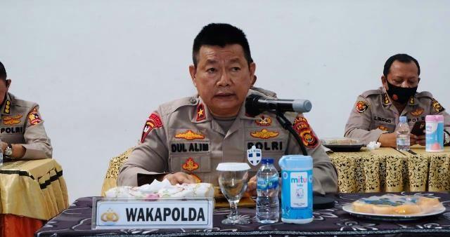 Wakapolda Jambi Brigjen Pol Drs Dul Alim, MH