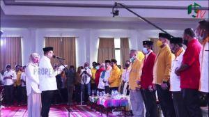 VIDEO: Unjuk Kekuatan Di Deklarasi Cek Endra- Ratu Munawaroh