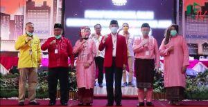 VIDEO: Diusung Golkar dan PDIP, CE-Ratu Resmi Mendaftar Di KPU
