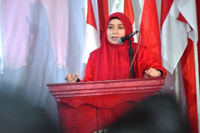 Maju Wakili Aspirasi Perempuan, Ratu Ajak Perempuan Bersatu Menangkan CE-Ratu