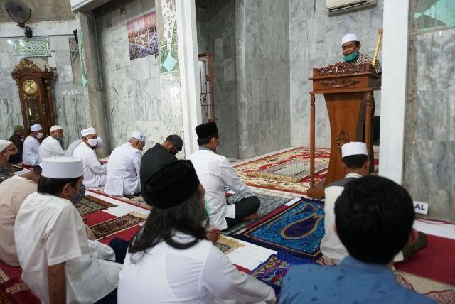 Solat Jumat Di Masjid Setya Negara, Syafril Nursal: Sejak Kecil Kami Anak Kosera Solat Disini