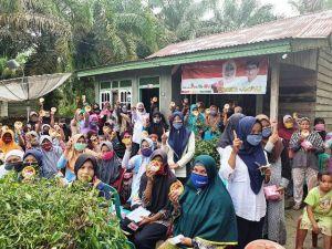 Dukungan Tak Terbendung, Warga Desa Rawa Mekar Teriakkan Yunninta-Mahdan Harga Mati