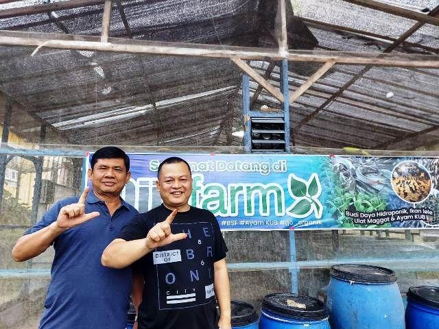 Konsen di Ekonomi Kerakyatan, Syafril Puji Budidaya Ayam Kampung yang Dikembangkan Fauzi Ansori