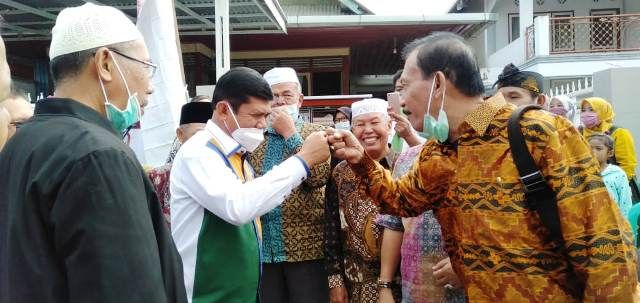 Pulang Kampung, Syafril Banjir Dukungan dari Masyarakat, Salah satunya dari Kerinci Barat