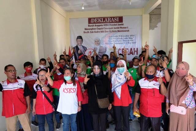 Ratu Munawaroh Jadi Anggota Kehormatan Konfederasi Serikat Buruh Sejahtera Indonesia