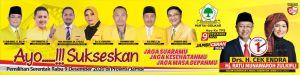 Fraksi Golkar DPRD Provinsi Jambi Nyatakan All Out Menangkan CE-Ratu