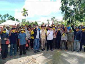 Adik Ketua MPR Iringi Kampanye Cek Endra di Tungkal