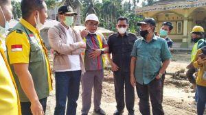 Baru Dilantik Langsung Tinjau Jalan Rusak, Syahruddin Siap Kawal Pembangunan Tanjabtim