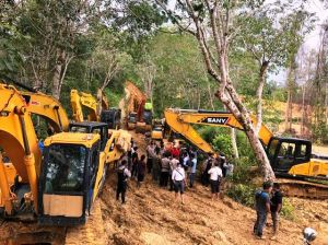 Pasca Didatangi Kapolda, Belasan Alat Berat di Aliran Sungai Batang Limun Keluar dari Lokasi
