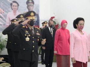 Virtual, Kapolda Jambi Bersama Ketua Bhayangkari Ikuti Setijab Kapolri