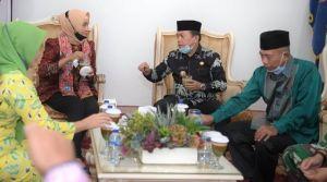 Sambut Kunker di Merangin, Al Haris Sampaikan 4 Poin ke Pj Gubernur Jambi