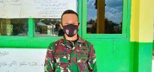 Prada Triyono, Warga SAD yang Lulus TNI Ikut Diterjunkan di Pra TMMD