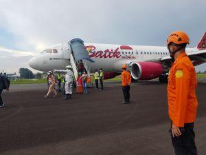 Sempat Terbang 20 Menit, Pesawat Batik Air BTK-6803 Tujuan Jakarta Kembali ke Jambi