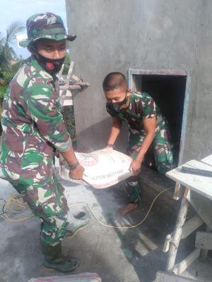 Gotong Royong Untuk Rehab Masjid di Mekar Jaya