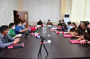 KPK ke Kejati Jambi Lakukan Penanganan Koordinasi dan Supervisi Perkara Korupsi