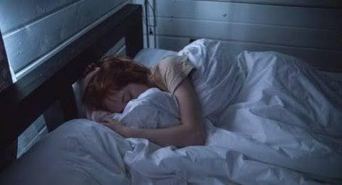 Ilustrasi orang tidur