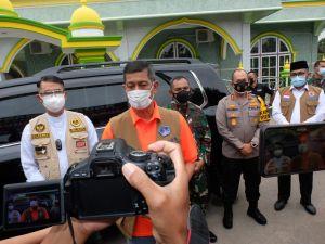 Doni Monardo Bersama Kapolda Jambi Cek Penanganan Covid-19 di Wilayah Zona Merah