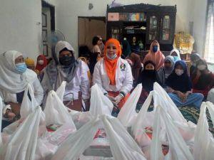 Lagi ISMI Berbagi, Bantu Semen dan Nasi Kotak ke Rumah Quran  Sabil Ar Rosad