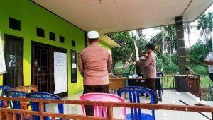 Kantor Desa Jati Emas Lockdown, Polres Lakukan Tracking dan Beri Bantuan Sembako