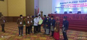 KPU Langsung Antar SK Penetapan Cagub Terpilih Ke DPRD Provinsi Jambi