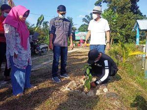 Gerakan Penanaman 1001 Pohon Serentak Desa Panca Mulya Menuju Desa Agrowisata