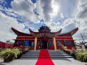 VIDEO : Viral! Masjid Cheng Hoo Jambi, Masjid Dengan Arsitektur Khas Tionghoa