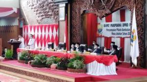 Pidato Perdana Di Gedung DPRD Provinsi Jambi, Al Haris: Bantu Saya dan Nasehati Saya Jika salah