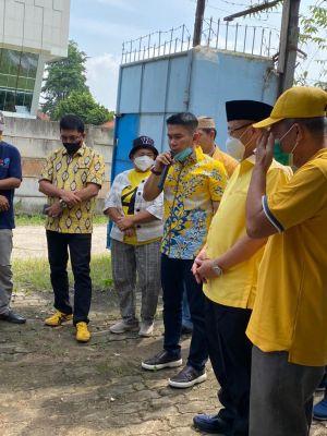 Endria Undang CE Hadiri Pemotongan Hewan Kurban di Kantor DPD Golkar Kota Jambi