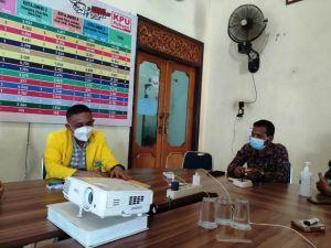 Ketua Golkar Kota Jambi Budi Setiawam Audensi Kepengurusan ke KPU Kota Jambi