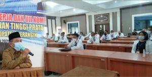 30 Orang Pejabat Eselon II, Ikuti Uji Kompetensi, Mashuri: Tak Ada Jabatan Basah dan Kering