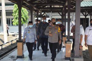 Kapolda Jambi Bersama Gubernur Cek Gedung LPMP yang Akan Digunakan Untuk Isolasi Pasien Covid-19