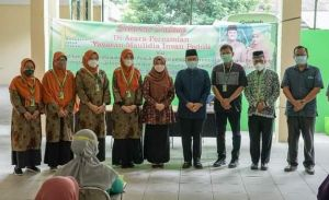Wawako Dr Maulana Kukuhkan Pengurus Yayasan Maulidia Insan Peduli