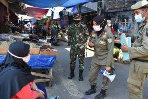 Prajurit Korem 042 Gapu Dukung Penanganan PPKM Di Kota Jambi