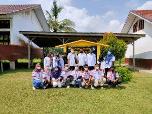Mahasiwa KKN Posko V Sosialisasi PHBS di SDN 64/IX Bakung Padang Muaro Jambi