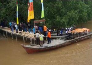 Penyerahan Ekowisata Mangrove dari Posko 22 KKN Kebangsaan Ke Pemerintah Tanjabtim