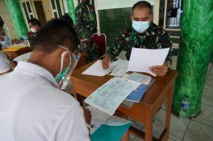 Kodim 0415/Jambi Kirim 316 Pemuda Ikuti Seleksi Penerimaan Calon Bintara PK TNI AD 2021