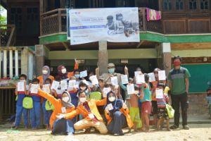 Mahasiswa FKIK Universitas Jambi Melakukan Pengabdian pada Suku Anak Dalam