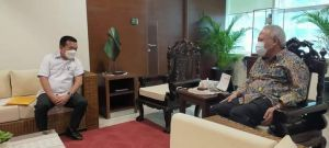 Dorong Pembangunan Pelabuhan Ujung Jabung, Al Haris Temui Menteri PUPR
