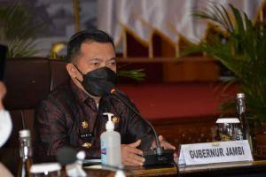 Undang Anggota DPRD Coffee Morning, Al Haris Minta Dukungan Bangun Jambi