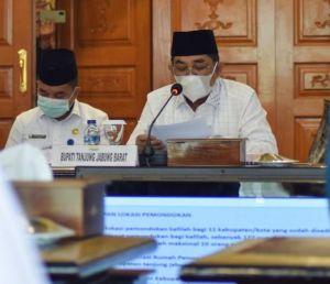 Gubernur dan Bupati Sepakati Konsisten Terapkan Prokes MTQ ke-50 Provinsi Jambi