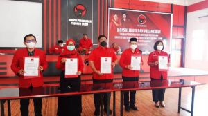 5 Pengurus Baru PDIP Jambi, Ada Ratu, Ahmadi Zubir dan Ustaz Amin Gantikan Kiai Sani