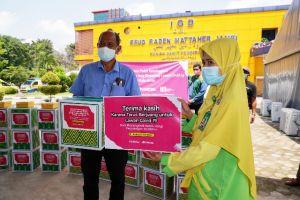 Insan Madani Jambi Salurkan 100 Paket Ketawa untuk Nakes di Kota Jambi