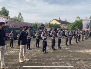 Satbrimob Gelar Latihan Pengamanan Atlet Jambi yang Akan Bertanding di PON Papua